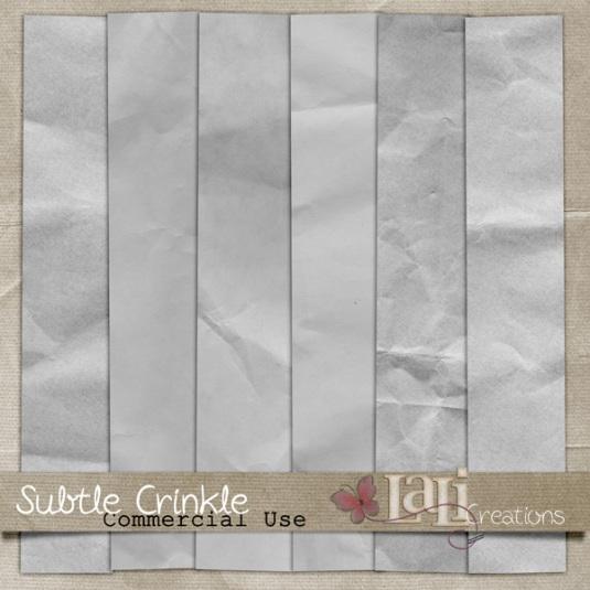Subtle Crinkle